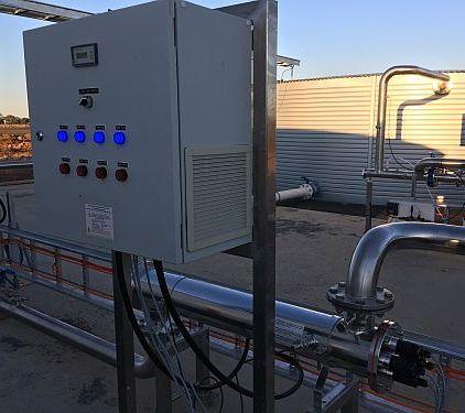 High flow industrial UV WaterMark