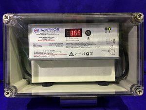 Weatherproof UV control panel